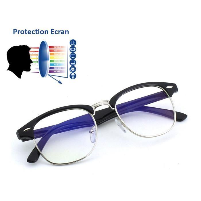 Lunettes Ordinateur Protection Anti lumi/ère Bleue Lunette Gaming Anti Fatigue oculaire pour Hommes et Femmes TUKNON Lunettes Anti Lumi/ère Bleue