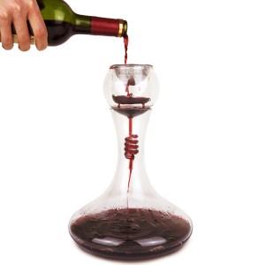 4 pi/èces de vin Bouteille hotder Carafe /à D/écanter Le Vin INCL Bouchon 100/% Pure Li/ège